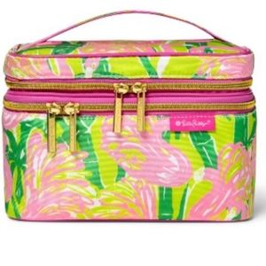 Lilly Pulitzer for Target Double Zip Cosmetic Case